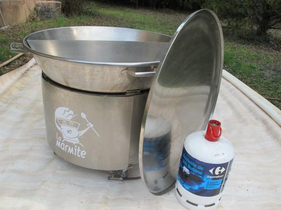 LA MARMITTE 150 litres INOX