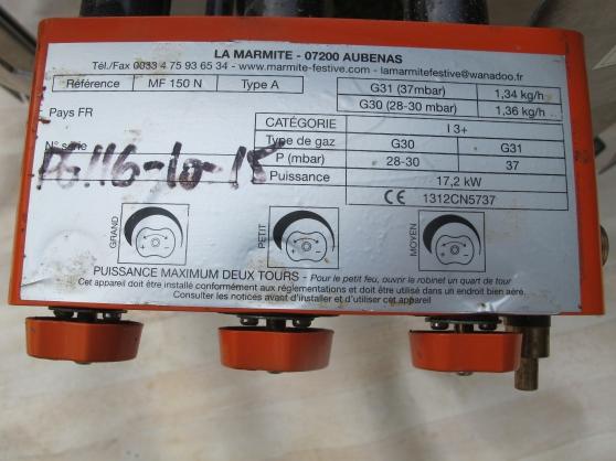LA MARMITTE 150 litres INOX - Photo 4