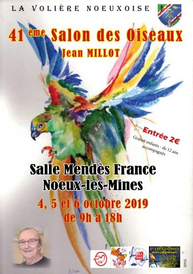 Annonce occasion, vente ou achat '41ème Salon des Oiseaux'