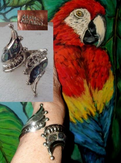 Bracelet Manchette Jonc très rare