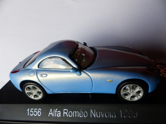 Annonce occasion, vente ou achat '2 ALFA ROMEO NUVOLA et 147 SOLIDO 1/43'