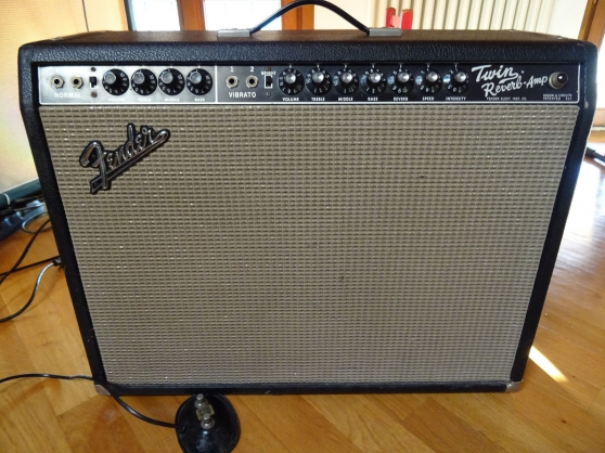 Annonce occasion, vente ou achat 'Fender Twin Reverb 1965'