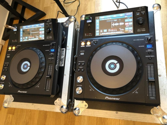 Annonce occasion, vente ou achat '2 Pioneer XDJ 1000'