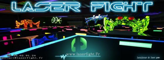 equipement lasergame, minigolf fluo...