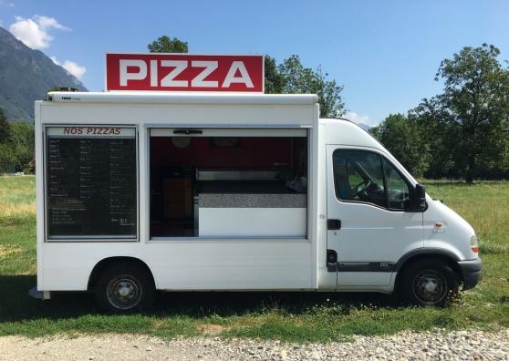 Camion Pizzas Renault Master 2.5 Diesel