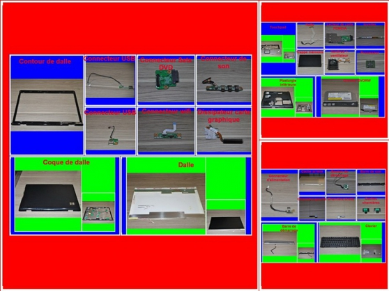 Annonce occasion, vente ou achat 'Pièces HP Pavilion DV9610em de 17,3 P'