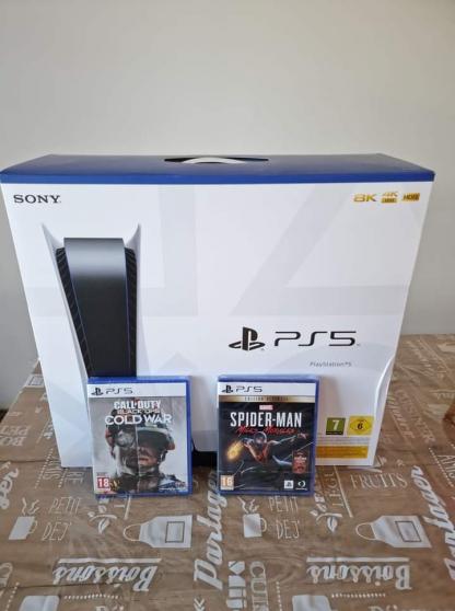 PlayStation 5 avec le lecteur DVD