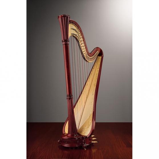 Annonce occasion, vente ou achat 'Harpe à pédales de concert de 47 cordes'