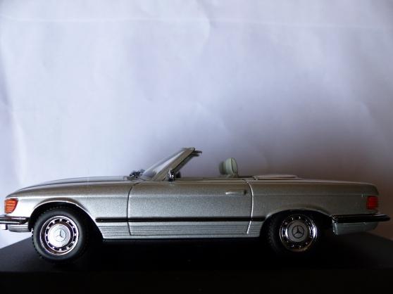 Annonce occasion, vente ou achat 'MERCEDES 350SL CABRIOLET MINICHAMPS 1/43'