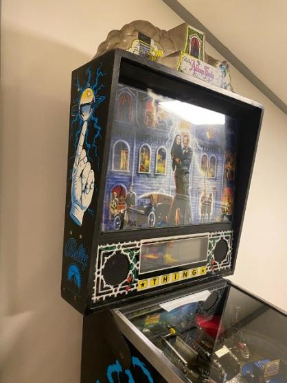 Annonce occasion, vente ou achat 'Flipper Addams Family d\'origine (BALLY'