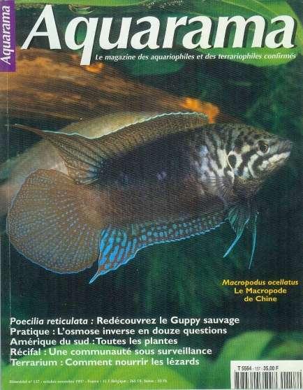 lot magazines aquariophilie