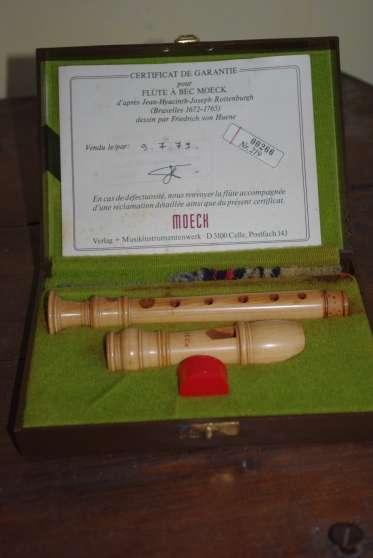 Flûte à bec baroque