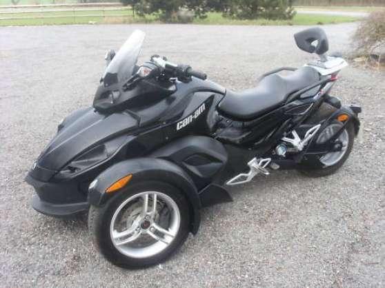 can am spyder roadster se5 full 2009 lille moto scooter v lo trial lille reference mot. Black Bedroom Furniture Sets. Home Design Ideas