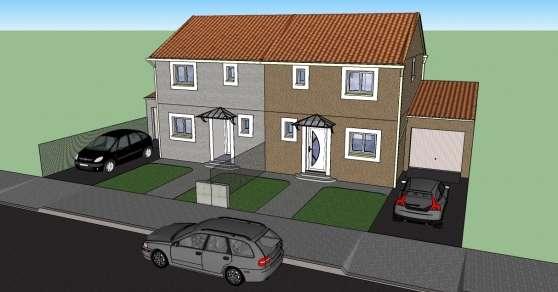 Villa R+1 neuve 85 m² La Peyrade