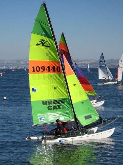 """hobie cat 16 """"the race"""" + remorque - Annonce gratuite marche.fr"""