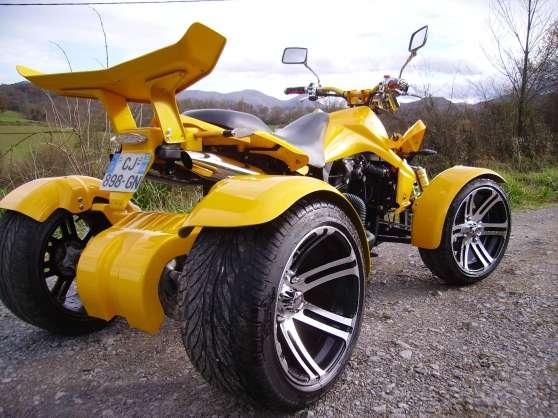 quad homologue route permis voiture