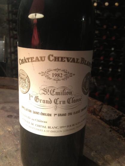 Annonce occasion, vente ou achat 'Magnum Cheval Blanc 1982'
