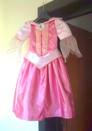 Robe de princesse, Disneyland, 4 ans