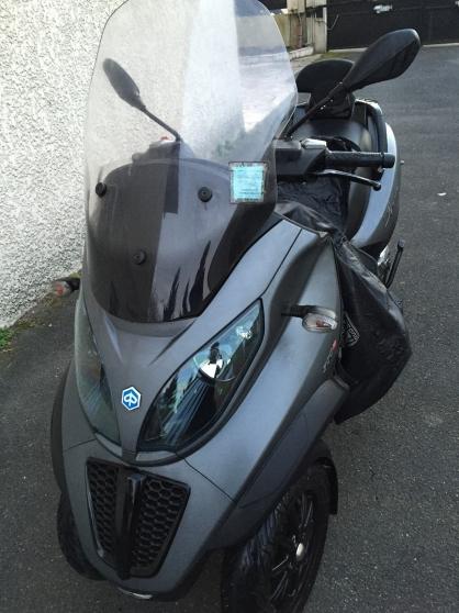 piaggio mp3 500 sport livry gargan moto scooter v lo. Black Bedroom Furniture Sets. Home Design Ideas