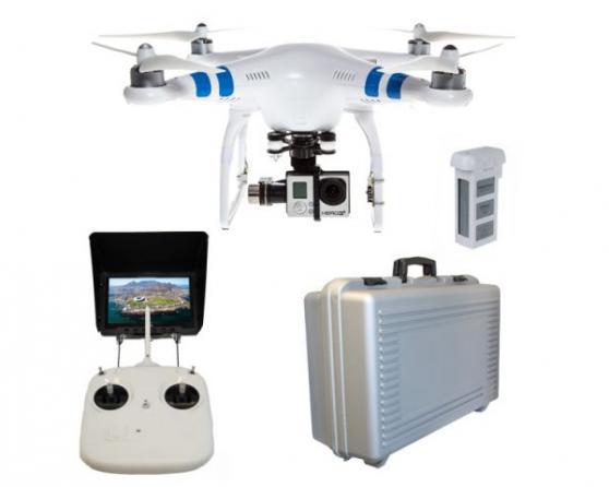 Drone DJI Phantom 3 Professional camera - Photo 2