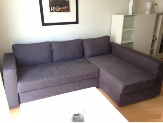 Petite Annonce : Canapé 3 places d\'angle/méridienne ikea - Canapé 3 places d\'angle/méridienne IKEA convertible vente pour