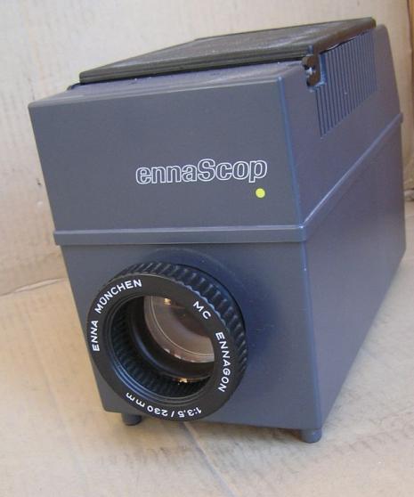 Projecteur épiscope texte et photos