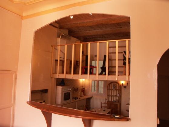 Grand t3 atypique proche vieux port marseille immobilier for Achat appartement marseille vieux port