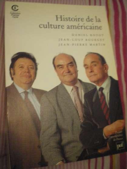Annonce occasion, vente ou achat 'Histoire de la culture américaine'