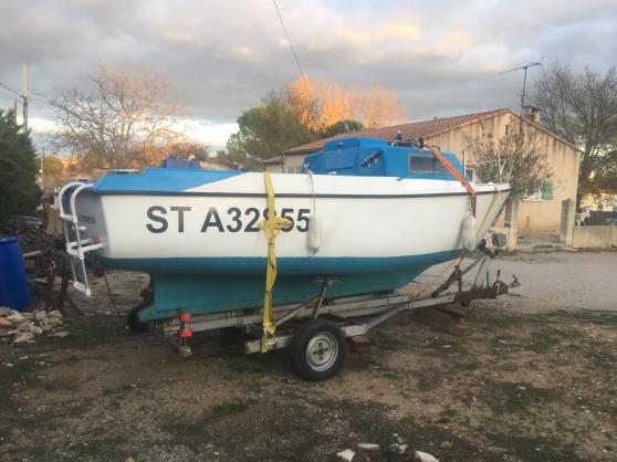 bateau 5m60 avec remorque sondeur gps - Annonce gratuite marche.fr