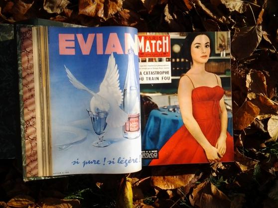Collection de Paris Match 1957 à 1975