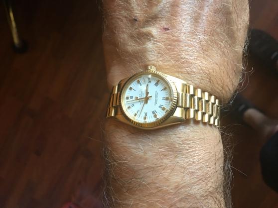 Rolex en Or avec preuve de conformite