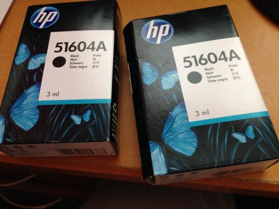 Annonce occasion, vente ou achat 'Lot de 2 encres HP 51604A Noir'