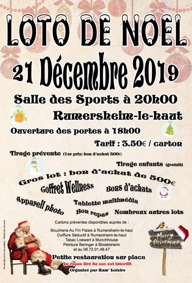 Annonce occasion, vente ou achat 'Loto de Noël'