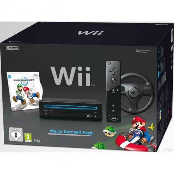 Annonce occasion, vente ou achat 'PACK WII MARIO KART GARANTIE 6 MOIS'