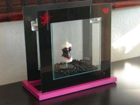 "Aquarium design ""Pink Lady"""