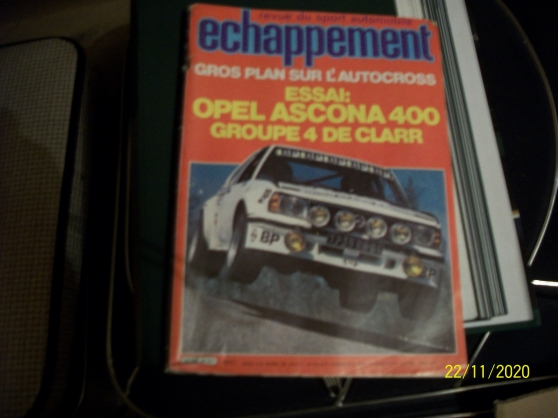 revues autos ( L'Automobile- Echappement