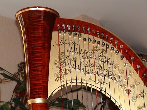 Annonce occasion, vente ou achat 'Harpe de concert 47 cordes double mouvem'