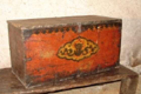 Annonce occasion, vente ou achat 'Coffre tibétain ancien'