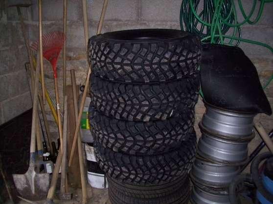 pneus 4x4 235x75x15 mud ower