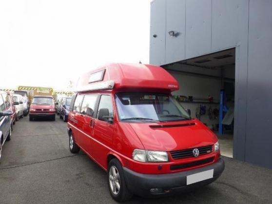 volkswagen t4 california exclusive westf caravanes camping car caravanes la rochelle. Black Bedroom Furniture Sets. Home Design Ideas