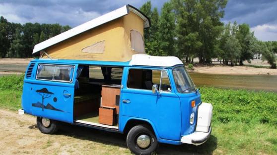 Mythique Volkswagen Combi T2 B Baywindow