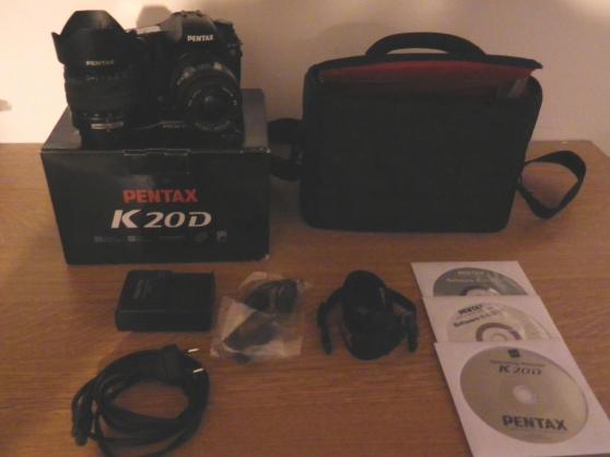 appareil photo pentax k20D + 2 objectif