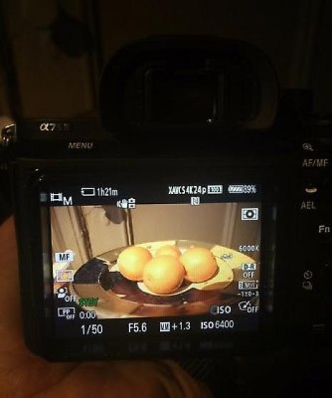 appareil photo numérique Sony alpha A7S - Photo 3