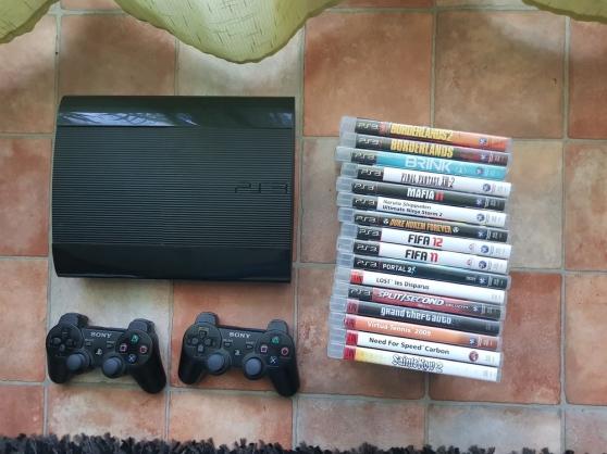 Annonce occasion, vente ou achat 'Vend PS3 Slim 500Go'