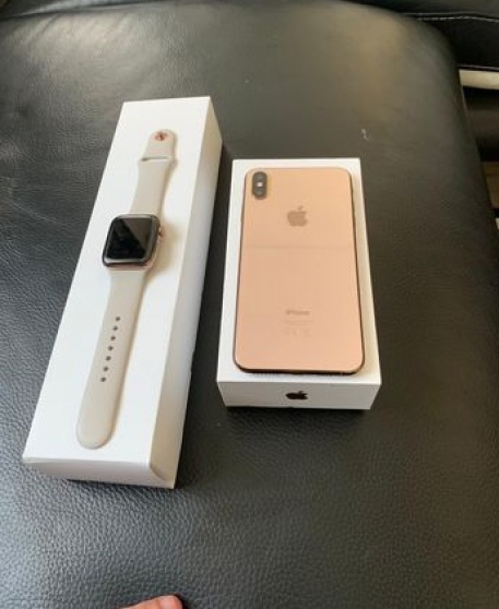 Annonce occasion, vente ou achat 'iPhone XS Max + Appel watch 4'