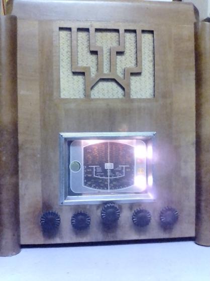 VINTAGE POSTE RADIO TSF de 1930