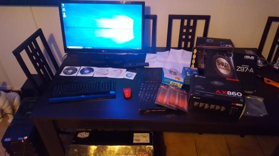 Annonce occasion, vente ou achat 'PC Bureau+Ecran LG+Windows10+Office2019'