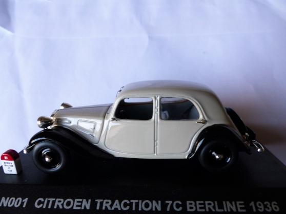 Annonce occasion, vente ou achat 'CITROEN TRACTION 7CV berline NOSTALGIE'
