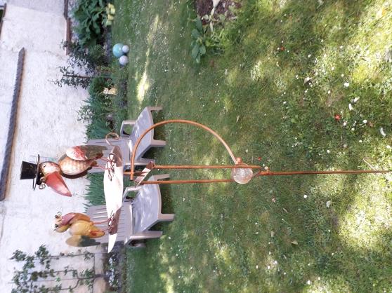 Scène champêtre 2 corbeaux s/balancier - Photo 3