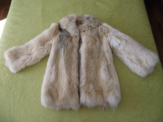 Très belle veste en loup véritable